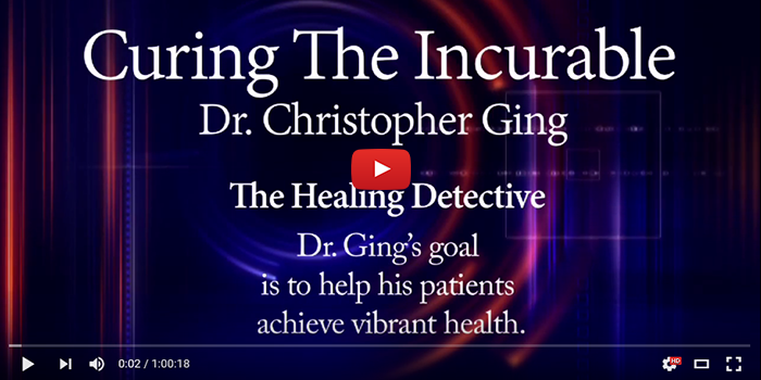 Dr. Christopher Ging | The Healing Detective